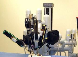 sistema chirurgico, da vicini, chirurgia, robot, operazioni