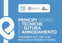 """""""PRINCIPI TEORICI E TECNICHE DI SUTURA ED ANNODAMENTO"""" Corso Teorico/Pratico"""