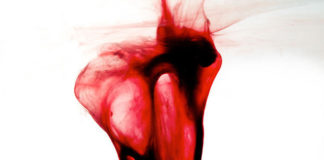 Caso Clinico 45 - Dolore Ciclo Mestruale - http://blurbrain.com/woman-uses-own-menstrual-blood-to-create-art/
