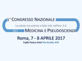 pseudoscienza salute congresso roma 7 8 Aprile 2017 Ergife Hotel Sconto