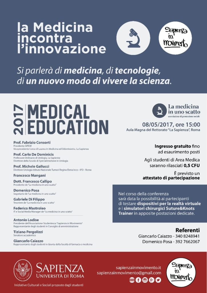 medical education la sapienza