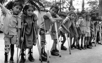 Scatti nel passato della medicina: la poliomielite