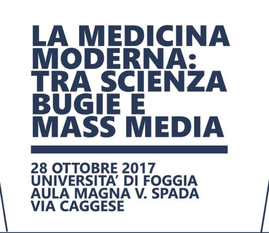 "Convegno ""La medicina moderna tra scienza, bugia e mass media"""