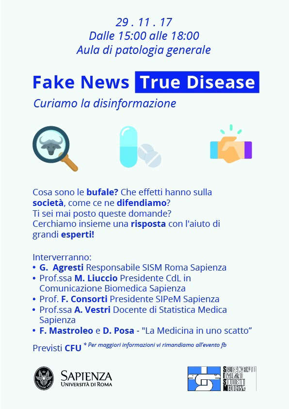 Fake news true diseases
