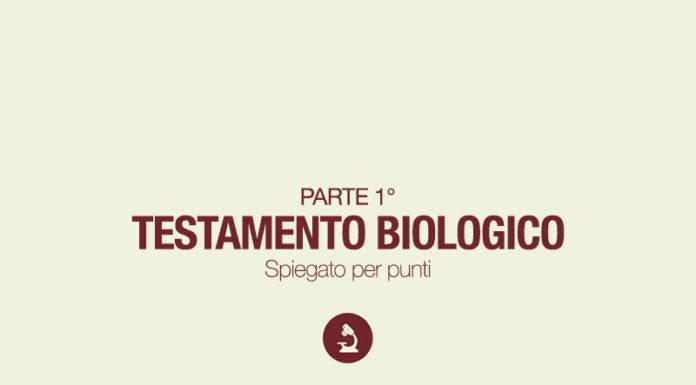 Testamento biologico parte 1