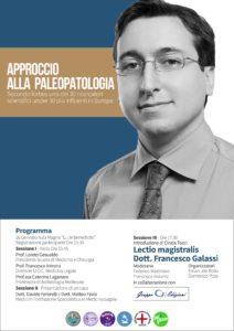 """Locandina Congresso """"Approccio alla Paleopatologia"""""""