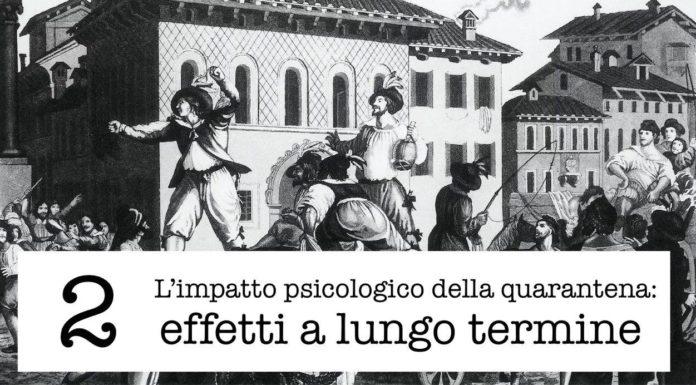 Psicologia della quarantena